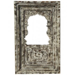 Wood Carved Frame With Mirror HAE74