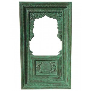 Wood Carved Frame With Mirror HAE75