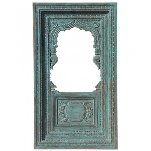 Wood Carved Frame With Mirror HAE76