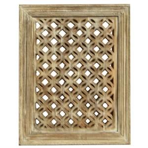 Wood Jali Pannel Colour Finish HAE79
