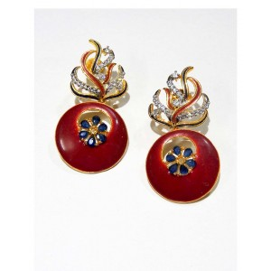 Ishi Collection Metallic Brass Earring IC01