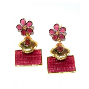 Ishi Collection Metallic Brass Earring IC04