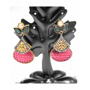 Ishi Collection Metallic Brass Earring IC11