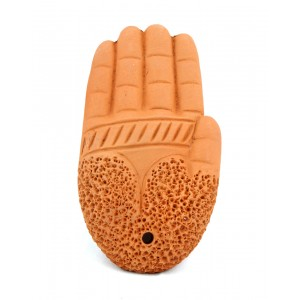 Terracotta Foot Scrubber SI21