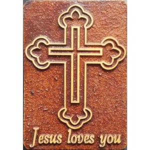 Agglo God Fridge Magnet GS07