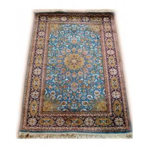River Blue Aredbill Kashmiri Carpet KCE09