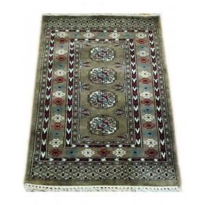 Cloud Gray Ersari Dali Kashmiri Carpet KCE19