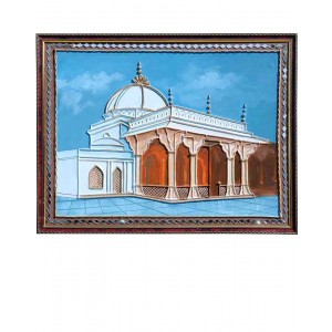 Dargha of Amjer Sharif Mud Work Painting