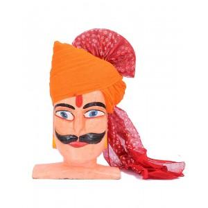 Rajasthani Bandhani Palla Chunri Safa MS03